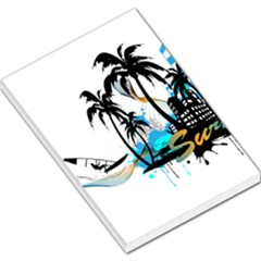 Surfing Large Memo Pads