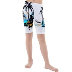 Surfing Kid s swimwear