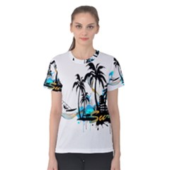 Surfing Women s Cotton Tees