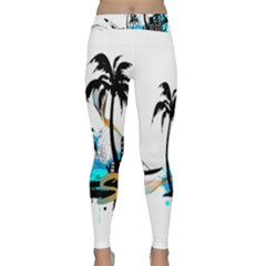 Surfing Yoga Leggings