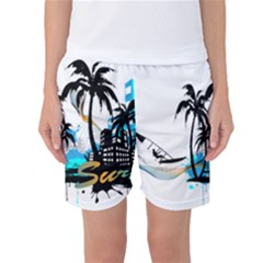 Surfing Women s Basketball Shorts