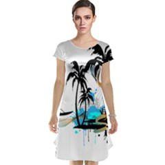 Surfing Cap Sleeve Nightdresses