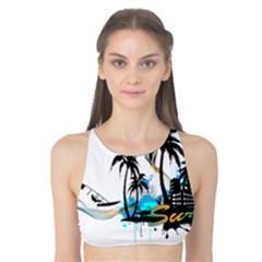 Surfing Tank Bikini Top