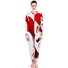 Women face with clef OnePiece Jumpsuit (Ladies)