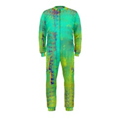 Abstract in Turquoise, Gold, and Copper OnePiece Jumpsuit (Kids)