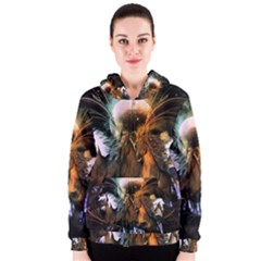 Wonderful Horses In The Universe Women s Zipper Hoodies