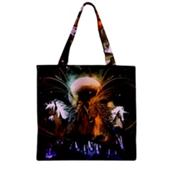 Wonderful Horses In The Universe Zipper Grocery Tote Bags