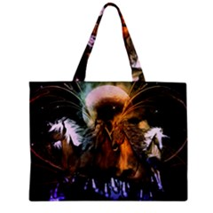 Wonderful Horses In The Universe Zipper Tiny Tote Bags