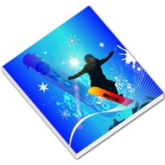 Snowboarding Small Memo Pads