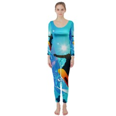 Snowboarding Long Sleeve Catsuit