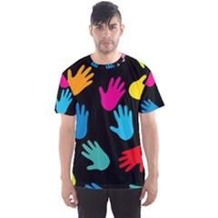 All Over Hands Men s Sport Mesh Tees