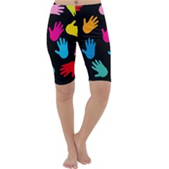All Over Hands Cropped Leggings