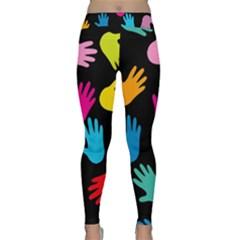 All Over Hands Yoga Leggings