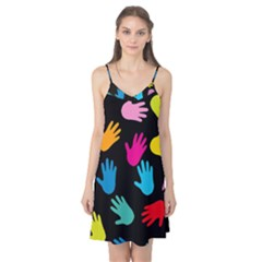 All Over Hands Camis Nightgown