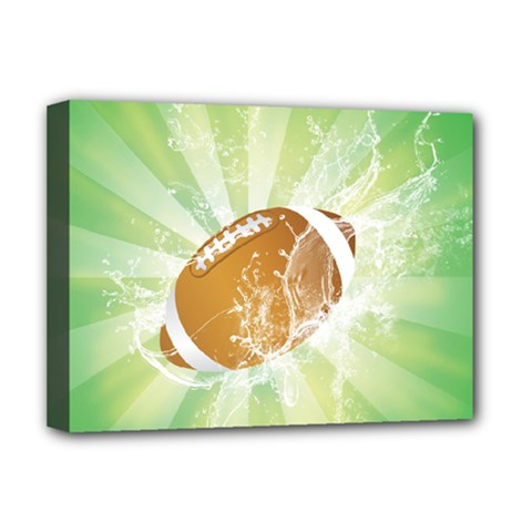 American Football  Deluxe Canvas 16  x 12