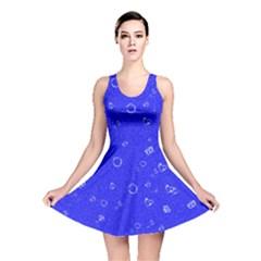 Sweetie Blue Reversible Skater Dresses
