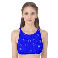 Sweetie Blue Tank Bikini Top