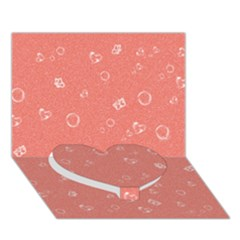 Sweetie Peach Heart Bottom 3D Greeting Card (7x5)