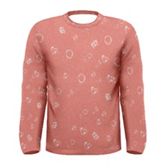 Sweetie Peach Men s Long Sleeve T-shirts