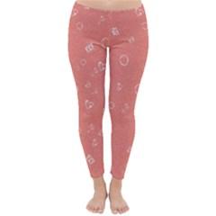 Sweetie Peach Winter Leggings