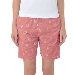 Sweetie Peach Women s Basketball Shorts