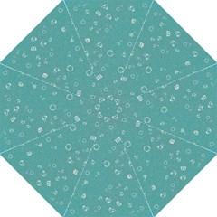 Sweetie Soft Teal Hook Handle Umbrellas (Medium)