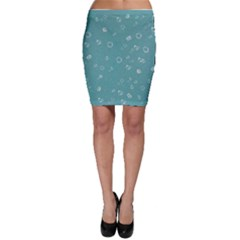 Sweetie Soft Teal Bodycon Skirts