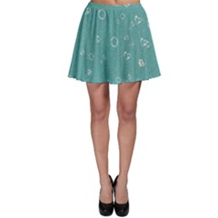 Sweetie Soft Teal Skater Skirts