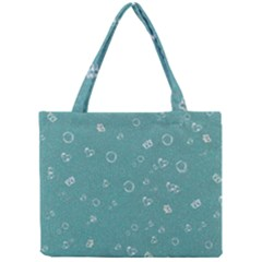 Sweetie Soft Teal Tiny Tote Bags