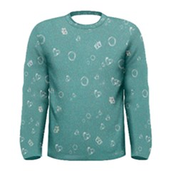 Sweetie Soft Teal Men s Long Sleeve T-shirts
