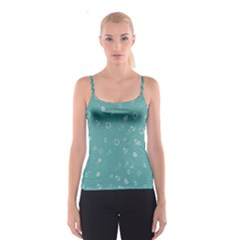 Sweetie Soft Teal Spaghetti Strap Tops
