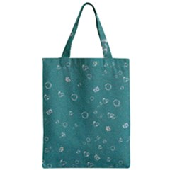 Sweetie Soft Teal Zipper Classic Tote Bags