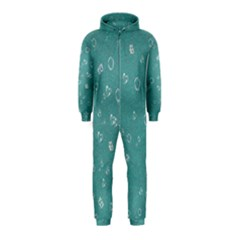 Sweetie Soft Teal Hooded Jumpsuit (kids)