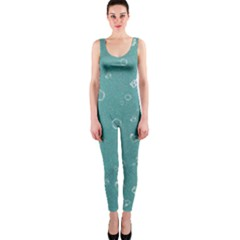 Sweetie Soft Teal OnePiece Catsuits