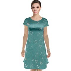 Sweetie Soft Teal Cap Sleeve Nightdresses