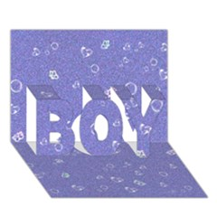 Sweetie Soft Blue Boy 3d Greeting Card (7x5)