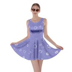 Sweetie Soft Blue Skater Dresses