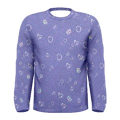 Sweetie Soft Blue Men s Long Sleeve T Shirts