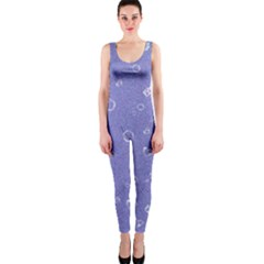 Sweetie Soft Blue OnePiece Catsuits