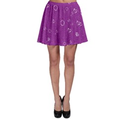 Sweetie,purple Skater Skirts