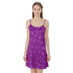 Sweetie,purple Satin Night Slip