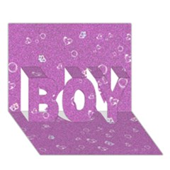 Sweetie,pink BOY 3D Greeting Card (7x5)