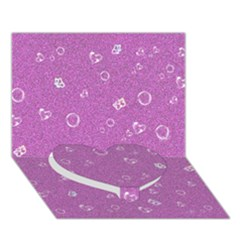 Sweetie,pink Heart Bottom 3D Greeting Card (7x5)