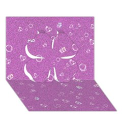 Sweetie,pink Clover 3D Greeting Card (7x5)