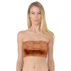 Arrow Pattern Women s Bandeau Tops