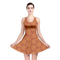 Arrow Pattern Reversible Skater Dresses