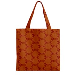 Arrow Pattern Zipper Grocery Tote Bags