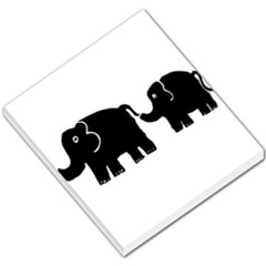 Elephant And Calf Small Memo Pads