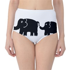 Elephant And Calf High-Waist Bikini Bottoms