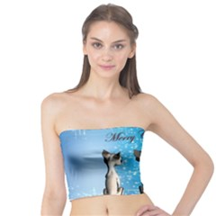 Merry Chrsitmas Women s Tube Tops